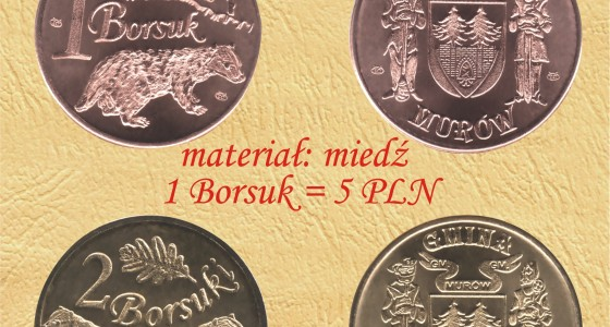 Borsuk – Monety